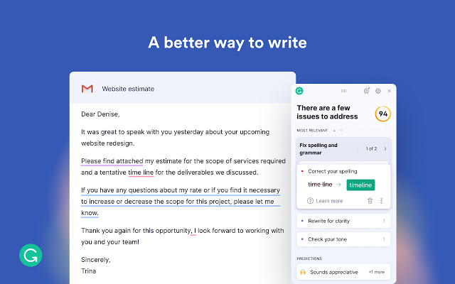 Grammarly chrome extention-todaytrick
